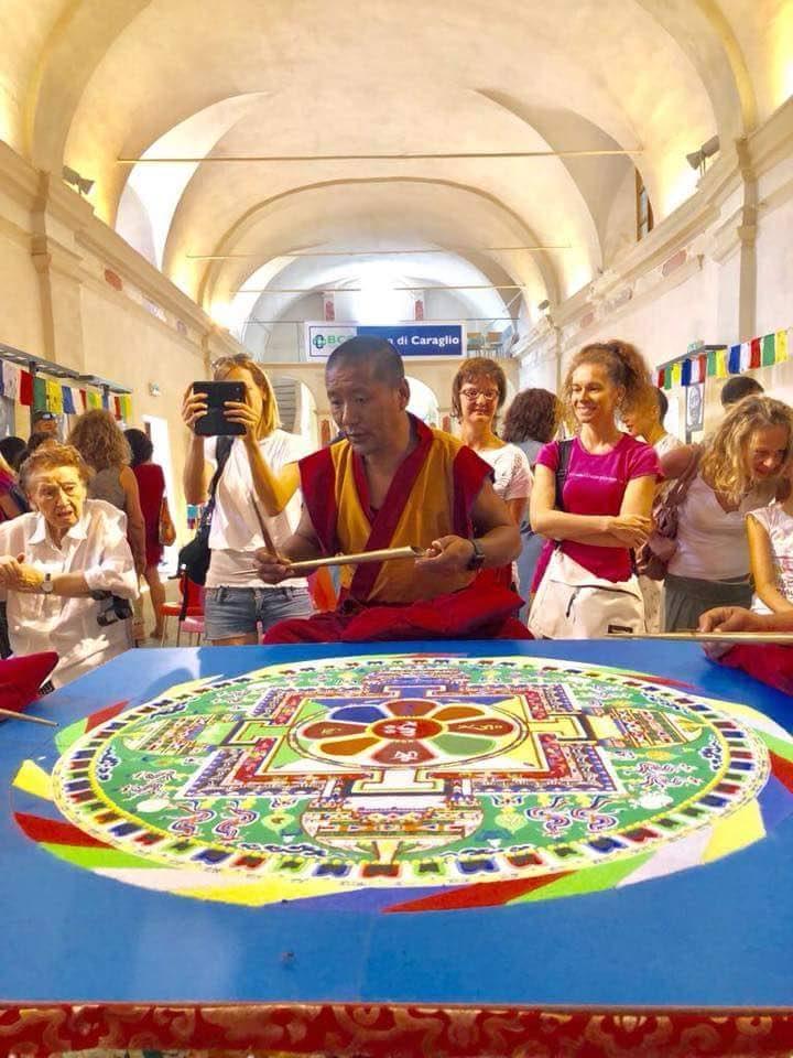 Mandala por la paz - Meditación, Sonoterapia y yoga en Tenerife Sur - Centro Budista Ghe Pel Ling Canarias 4