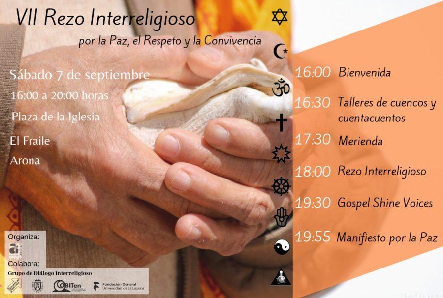Rezo Interreligioso por la Paz, el Respeto y la Convivencia